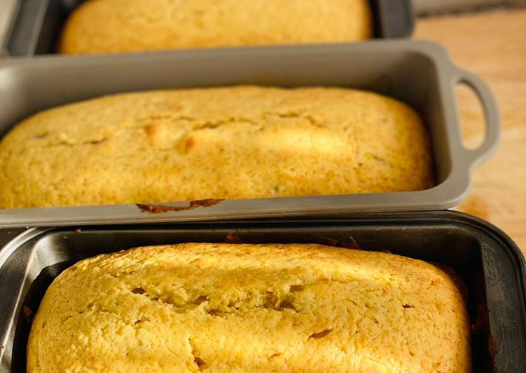 Steps to Prepare Any-night-of-the-week Banana bread with lemon zest!