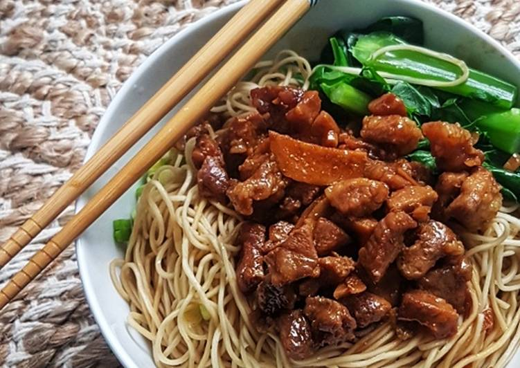 Easiest Way to Cook Perfect Pork Ribs Noodle