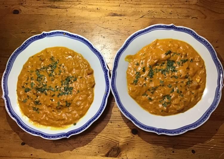 Le moyen le plus simple de Cuire Délicieux Gambas rouges sauvages au curry et lait de coco