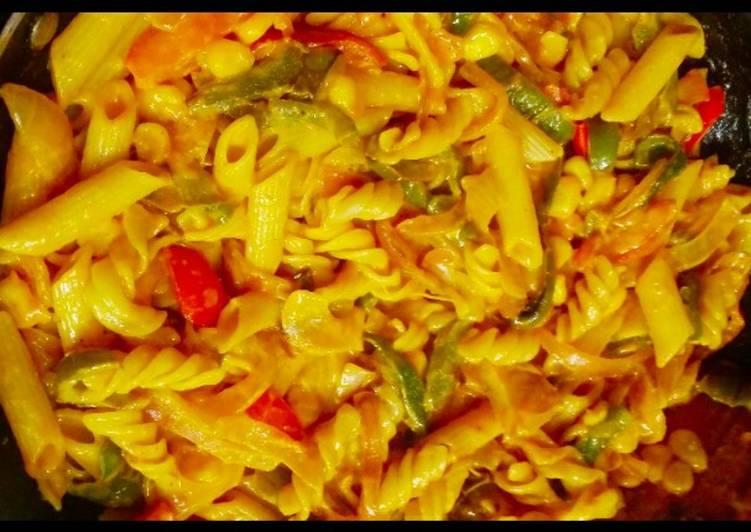 Vegetables Pasta