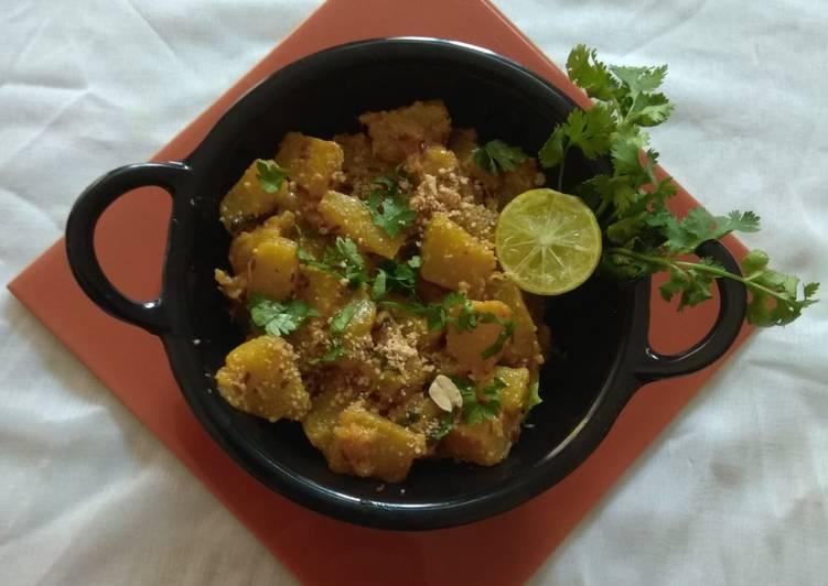 Easiest Way to Prepare Award-winning Falahari pumpkin sabji
