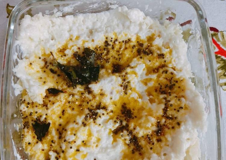 Recipe of Super Quick Homemade Curd Cauliflower rice