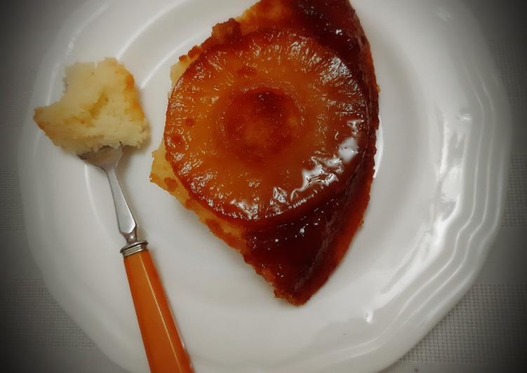 Comment faire Préparer Délicieux Gâteau renversé a l'ananas🍍