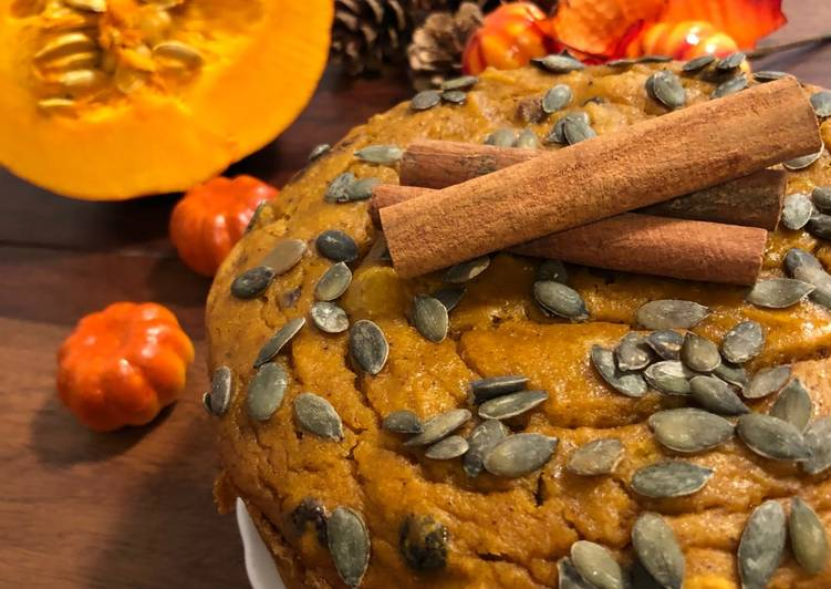 Recipe of Favorite Eggless Whole Wheat Pumpkin Raisins Cake – Autumn Theme Cake
