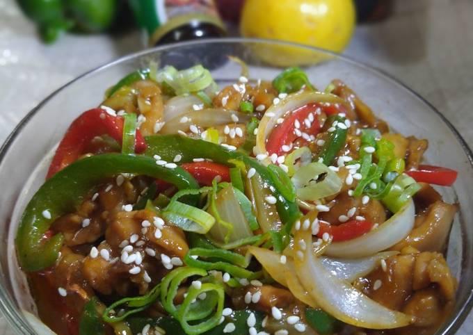 Chicken ala Yoshinoya