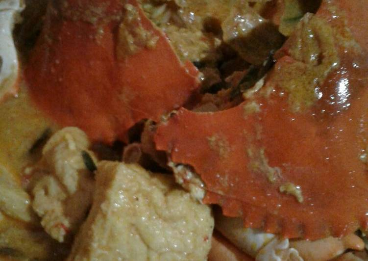 Kepiting kare mantap