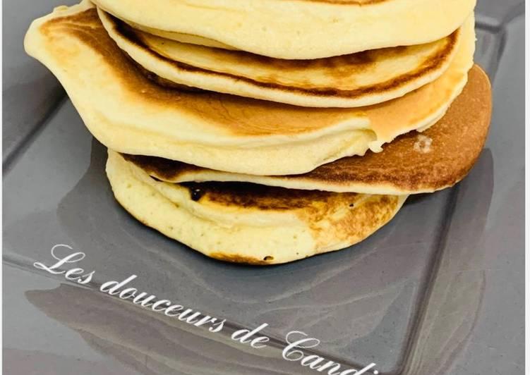 Recette Délicieux Pancakes moelleux