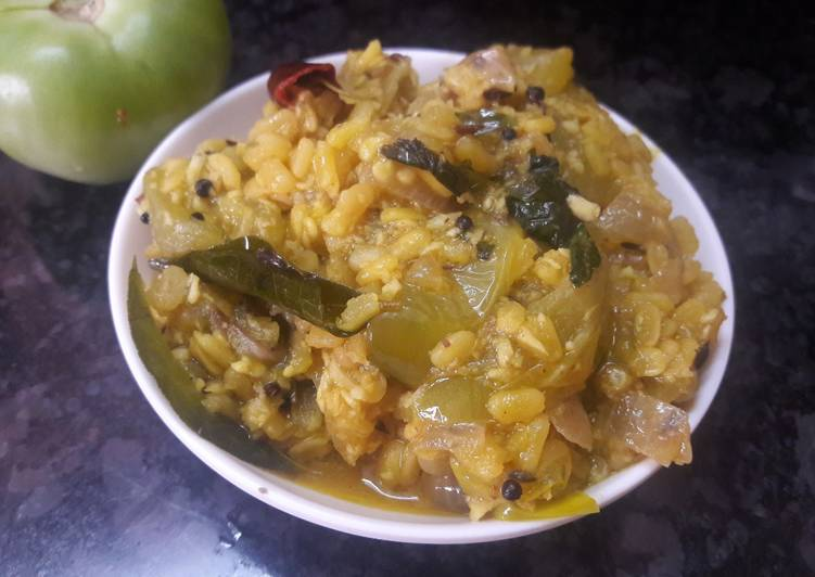 Green tomato curry Finding Healthful Fast Food
