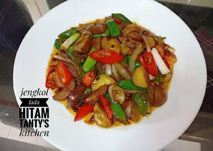 Resep Jengkol Lada Hitam Oleh Tanty S Kitchen Cookpad