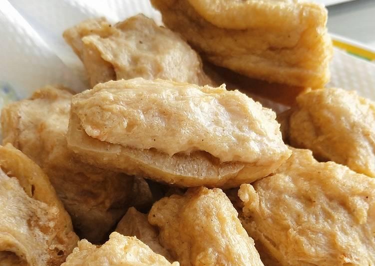 Tahu Bakso Udang Ayam Goreng