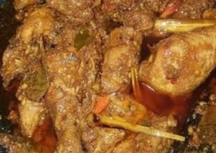 resep cara mengolah Rendang ayam Indofood