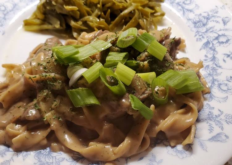 Steps to Make Any-night-of-the-week My Beef Stroganoff