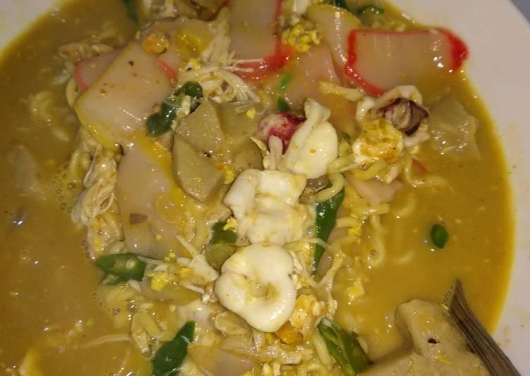 Seblak Mozarella Seafood Mie Instan