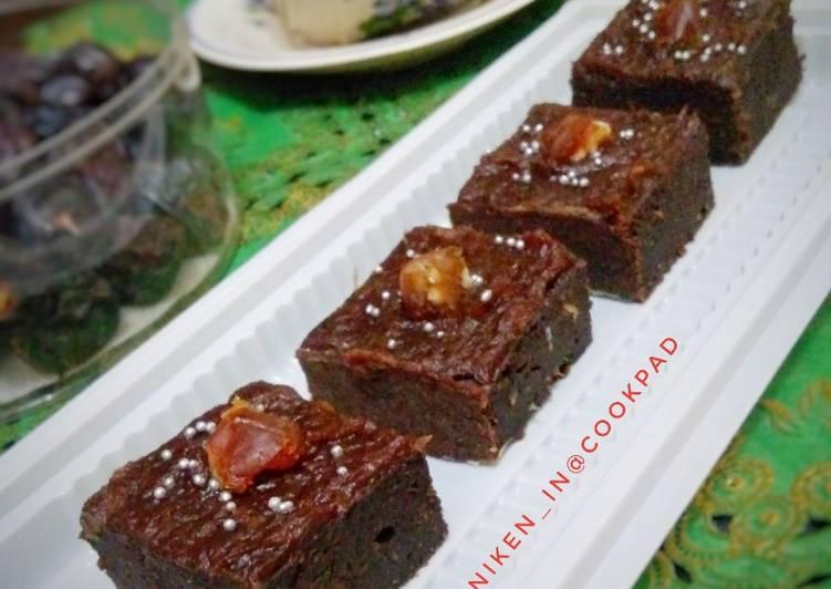 Brownies Kurma (Sugar free)