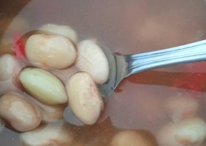 Sayur asam kacang merah