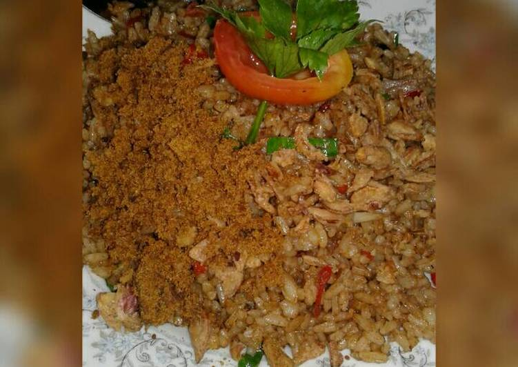 Resep Nasi goreng abon sapi oleh Elize Elvarette - Cookpad