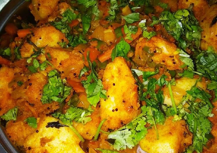 Mix veg rawa idli