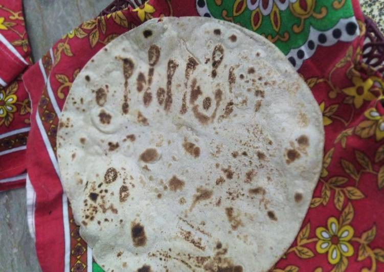 Recipe of Perfect Buttery Chapati