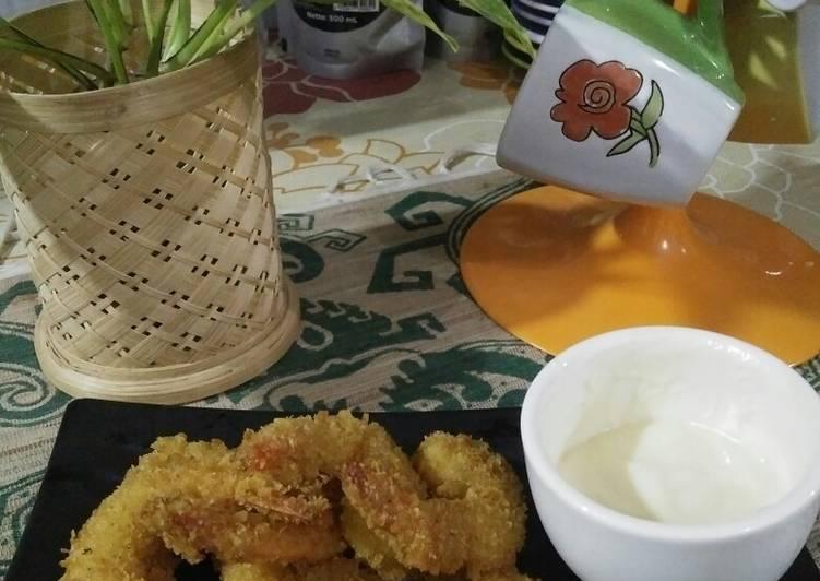 Udang Goreng Kriuk Mayonaise