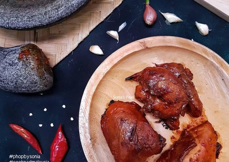 Ayam Bakar Bumbu Rojak #phopbylinimohd #batch21 - velavinkabakery.com