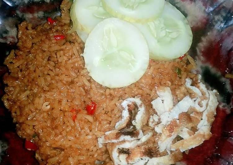 Nasi Goreng Kampung aLa Mamih Cubita
