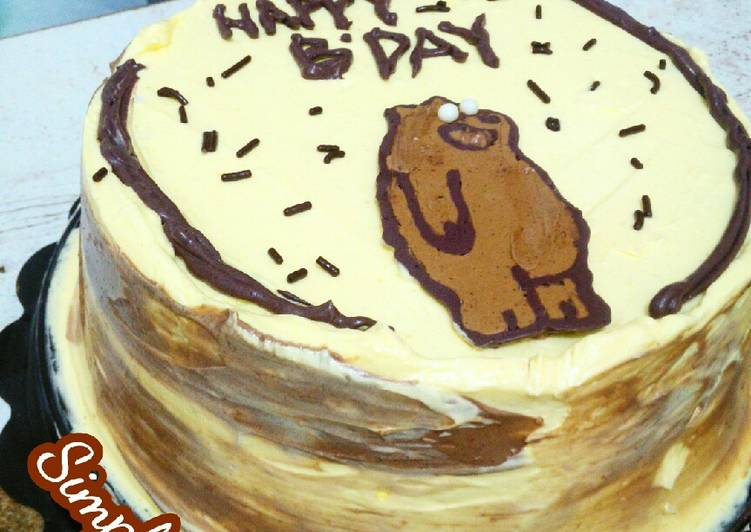 Simpel Birthday Cake