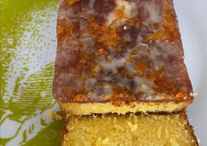 Cake a l'orange graines de pavot