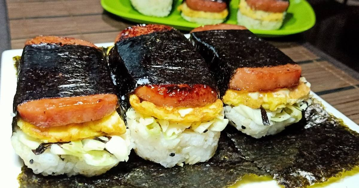 Spam Musubi Recipe By Ramjay Dizon Cookpad
