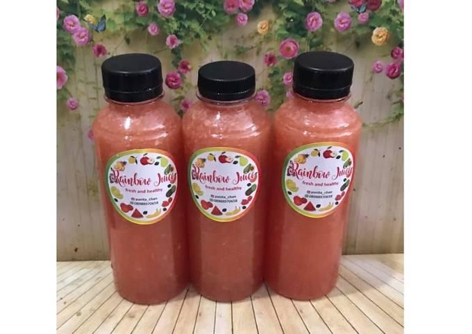 Diet Juice Orange Lemon Cucumber Watermelon
