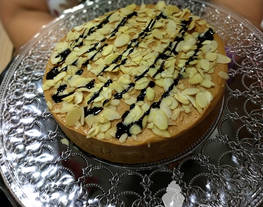 Cheesecake con ingrediente sorpresa