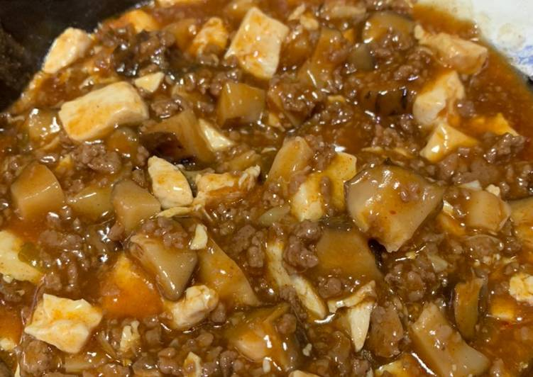Easiest Way to Prepare Delicious Simple Mapo Tofu