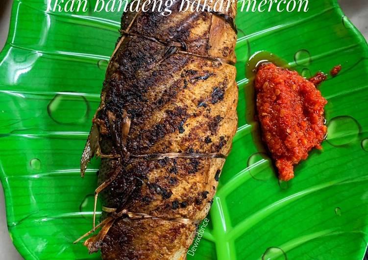 Ikan bandeng bakar mercon