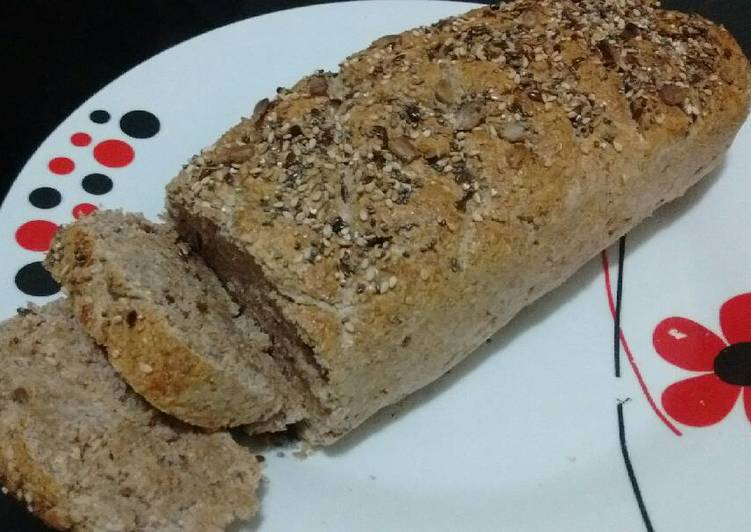 como hacer pan integral con semillas facil