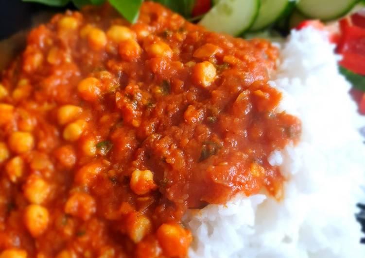 Step-by-Step Guide to Make Super Quick Homemade Chana masala (vegan)