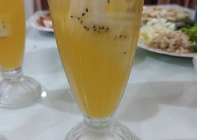 Es jeruk kelapa muda kw
