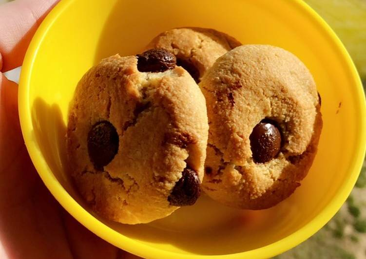 Recipe: Tasty Cookies Healthy amande/chocolat
