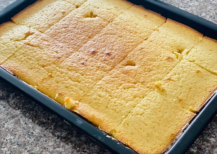 Recipe of Super Quick Homemade Sponge Cake
