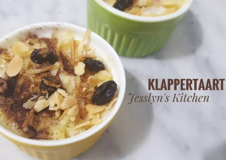 Resep Klappertaart Versi Unbaked Oleh Jesslyn S Kitchen Cookpad