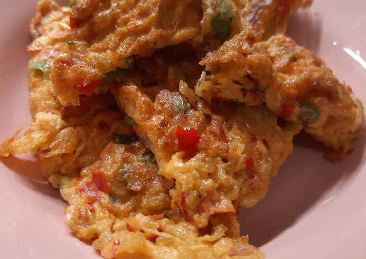 Telur Dadar Padang (tebal dan krispi)