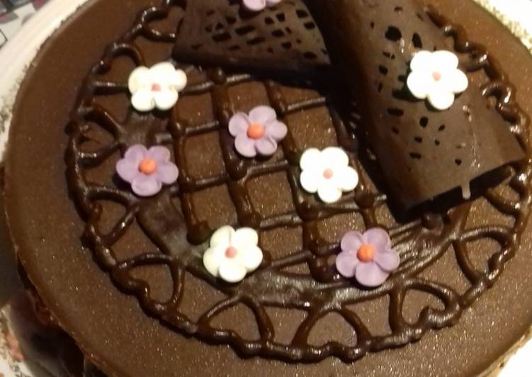 Comment Servir 🍰 Fraisier Chocolat 🍫