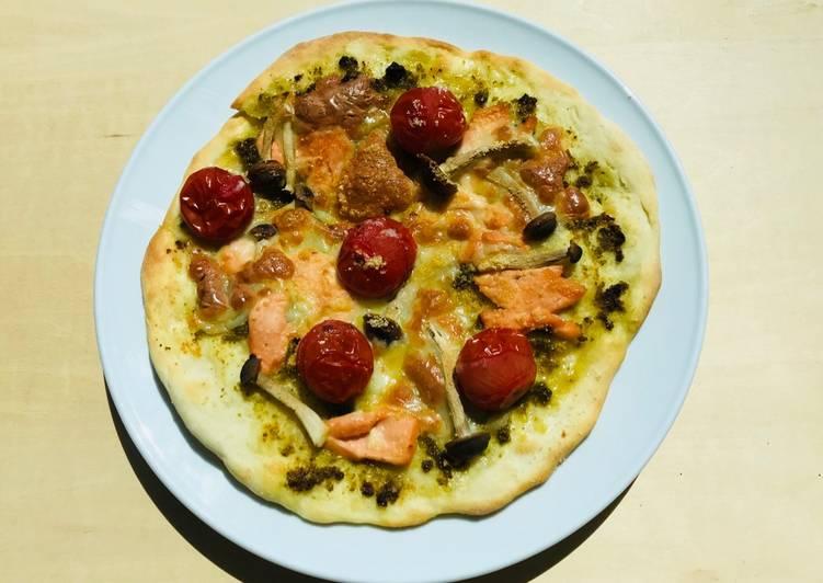 Ricetta Pizza al Salmone☆