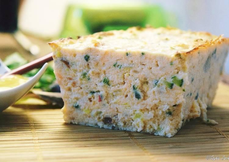 Terrine de saumon et petits légumes