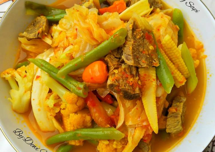 Tongseng Sapi (tanpa santan) - cookandrecipe.com