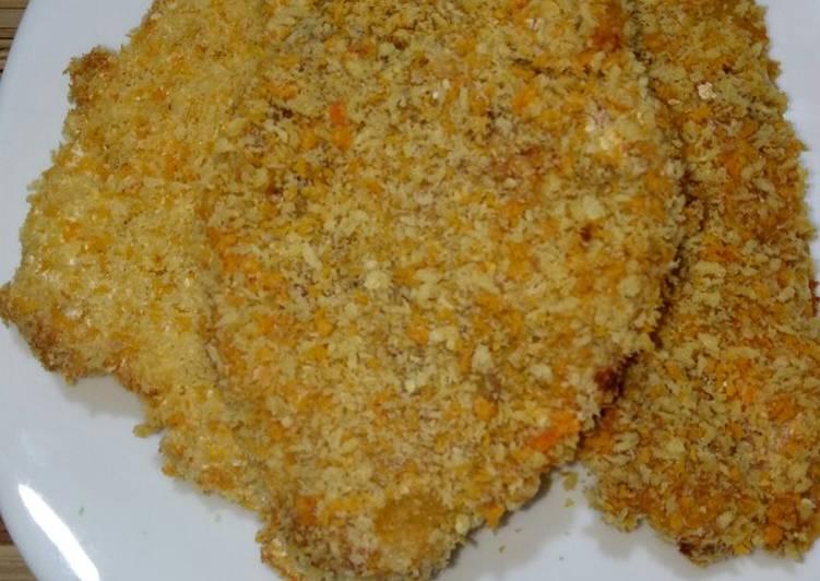 Resep Oven roasted crispy chicken breast (dada ayam panggang krispi) Yang Populer Lezat
