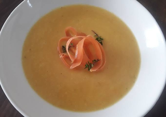 Sig's Fennel and Carrot Soup