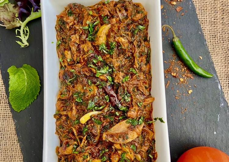 Spicy Mackerel Bhuna #MyCookbook