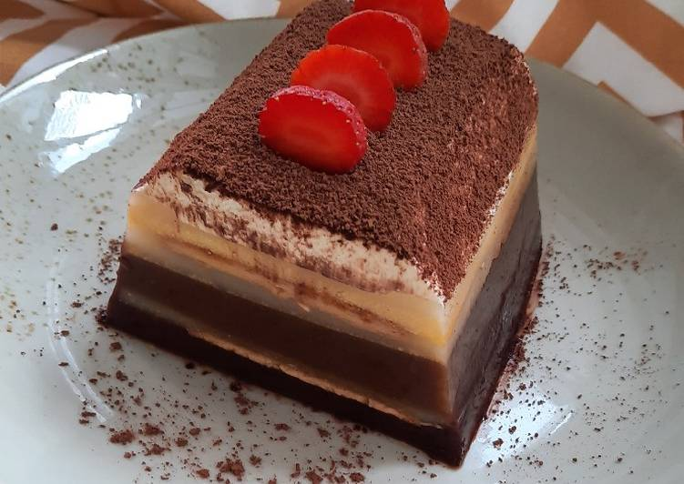 Tiramisu Cream Pudding