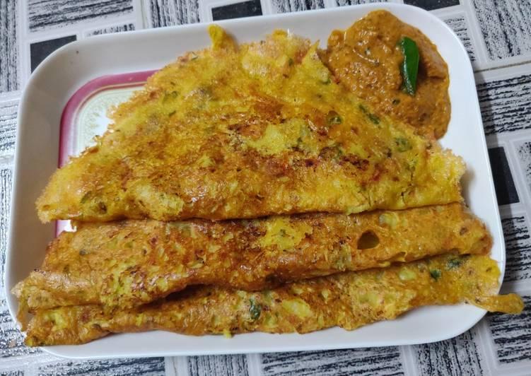 Simple Way to Make Favorite Veg potato omlette