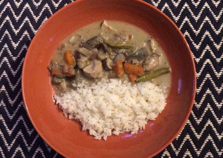 Recipe of Ultimate Thai green curry