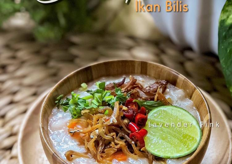 Bubur Nasi Ikan Bilis - resepipouler.com
